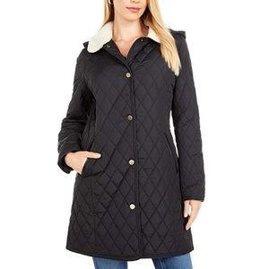 Lauren Ralph Lauren 3/4 quilted blazer coat.